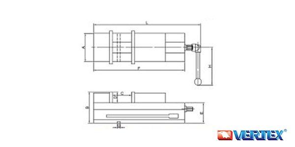 Lock-Fixed II Precision Machine Vise