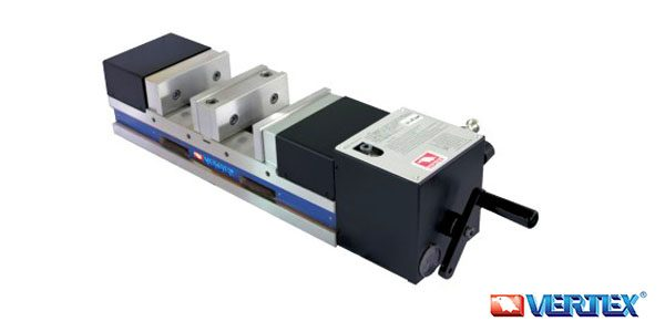Precision Pneumatic Ang-Fixed Power Vise (Double Clamp Type)