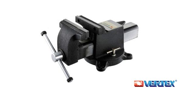 Steel Bench Vise With Base
