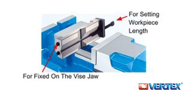 Universal Vise Jaws With Work Stopper